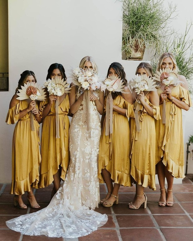 19 of the Most Baller Bride Squad Snaps from 2019