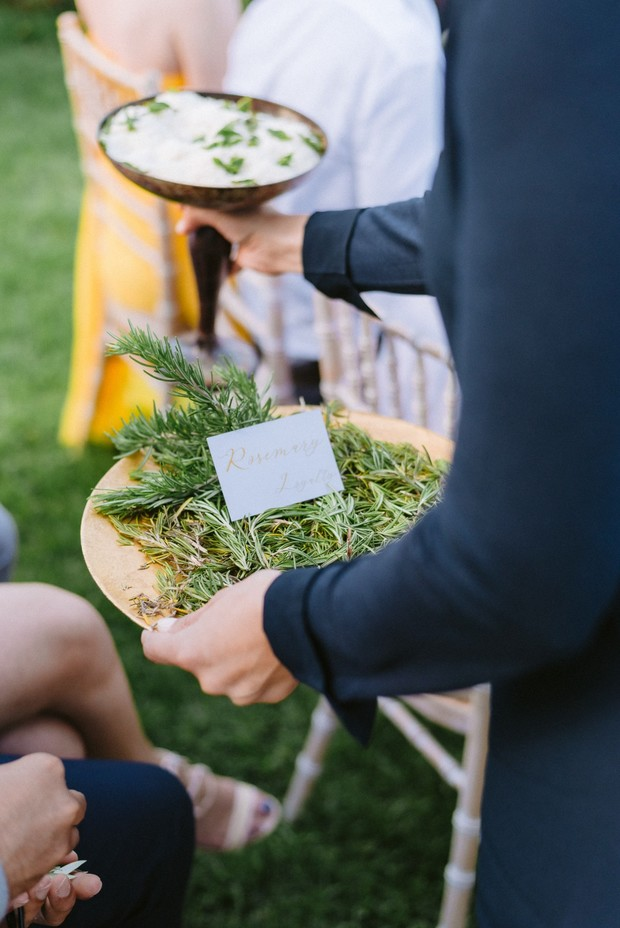 wedding herbs to toss at the newlyweds