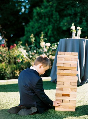 giant jenga for your reception