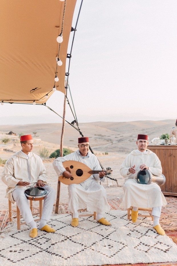live wedding music in Morocco