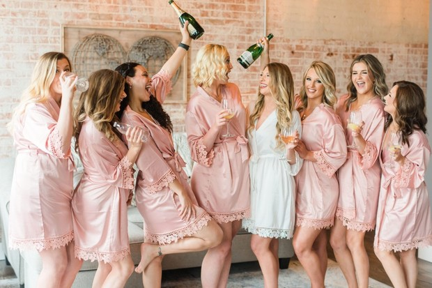 Bridesmaid gifts from LaLa Confetti