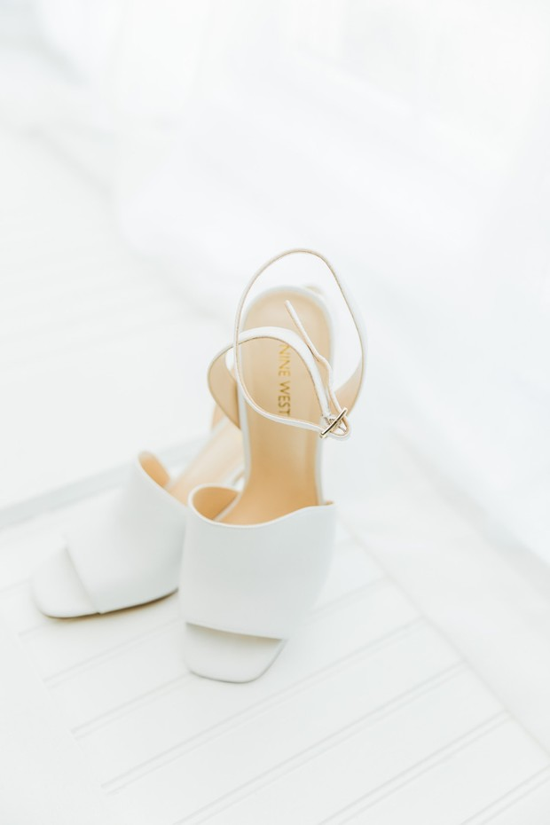 Nine West wedding heels