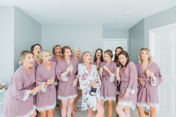 Feel The Love At This Elegant Wedding With A Huge Bridal Party