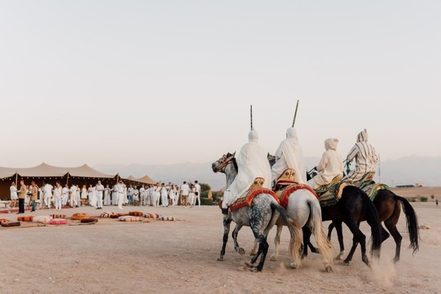 wedding ceremony in Morocco