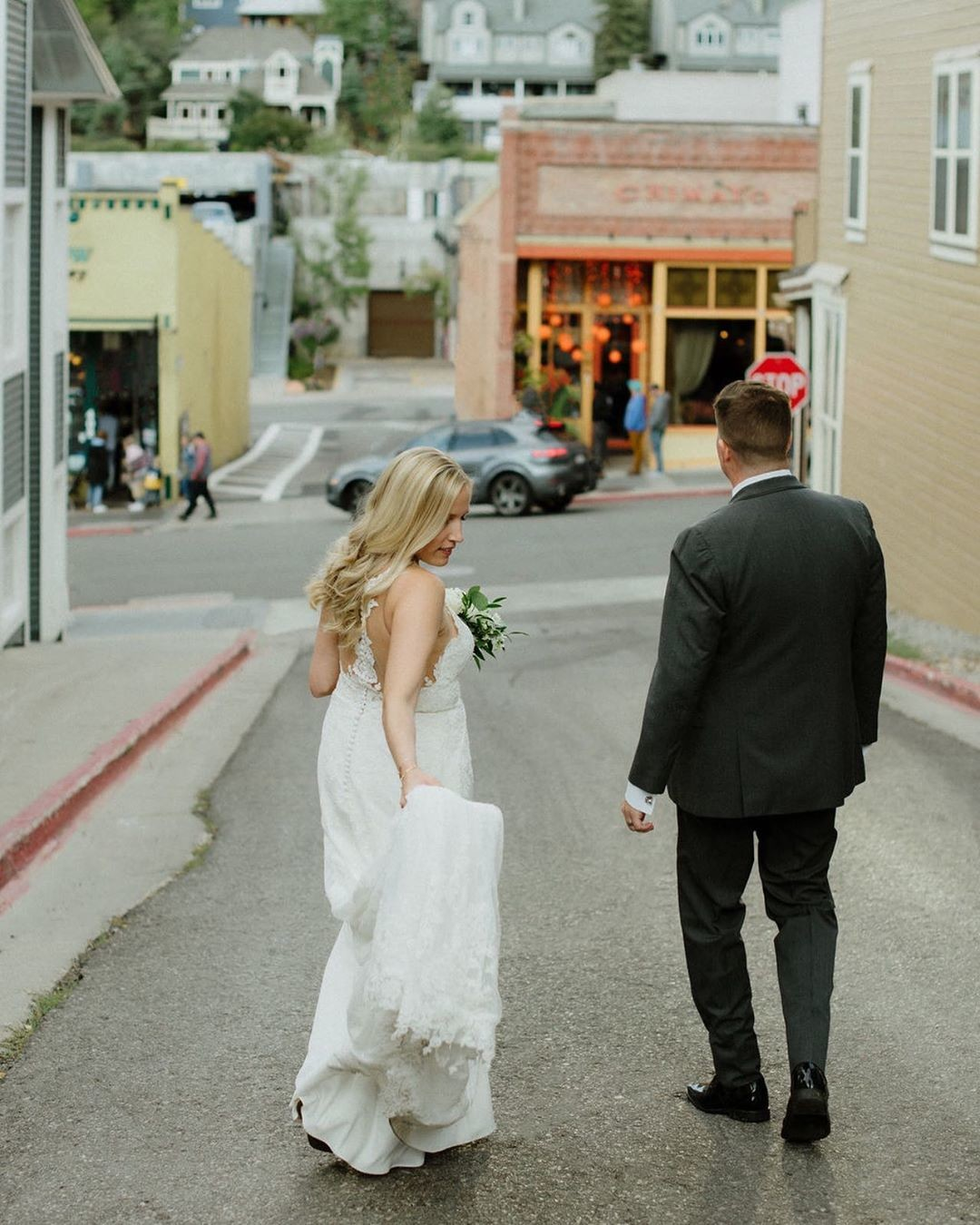 This Park City wedding was amazing. Ryan and Ashley exchanged vows on the bridge