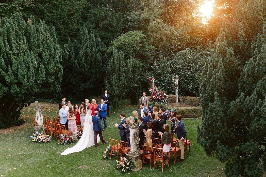 Perfect wedding in Italy.