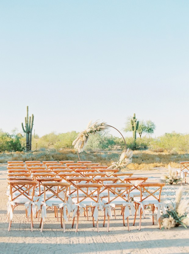 copper wedding seating
