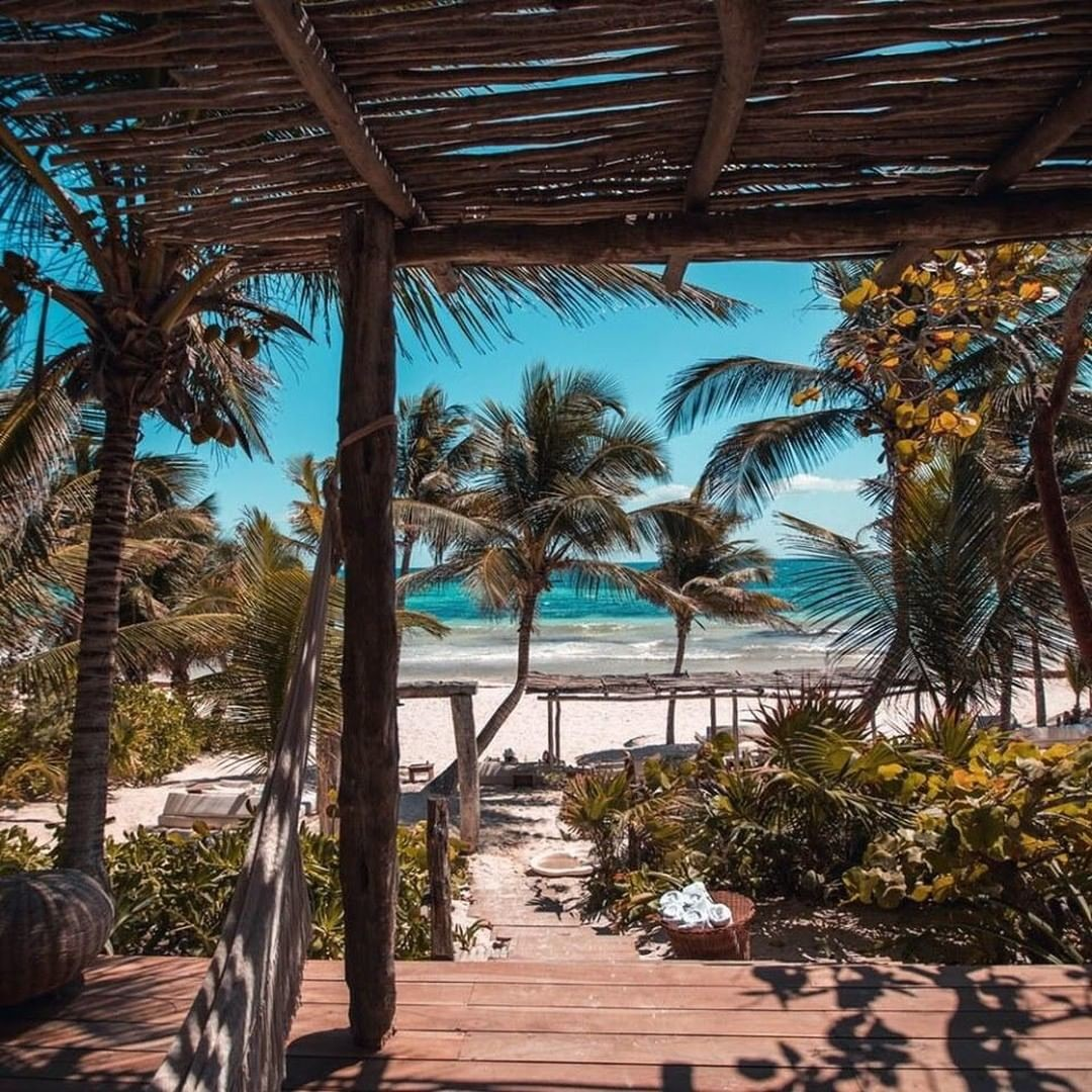 Saturday Spotlight... Tulum sits on the southern tip of the Riviera Maya, and over the years it has become one of Mexico's most stylish