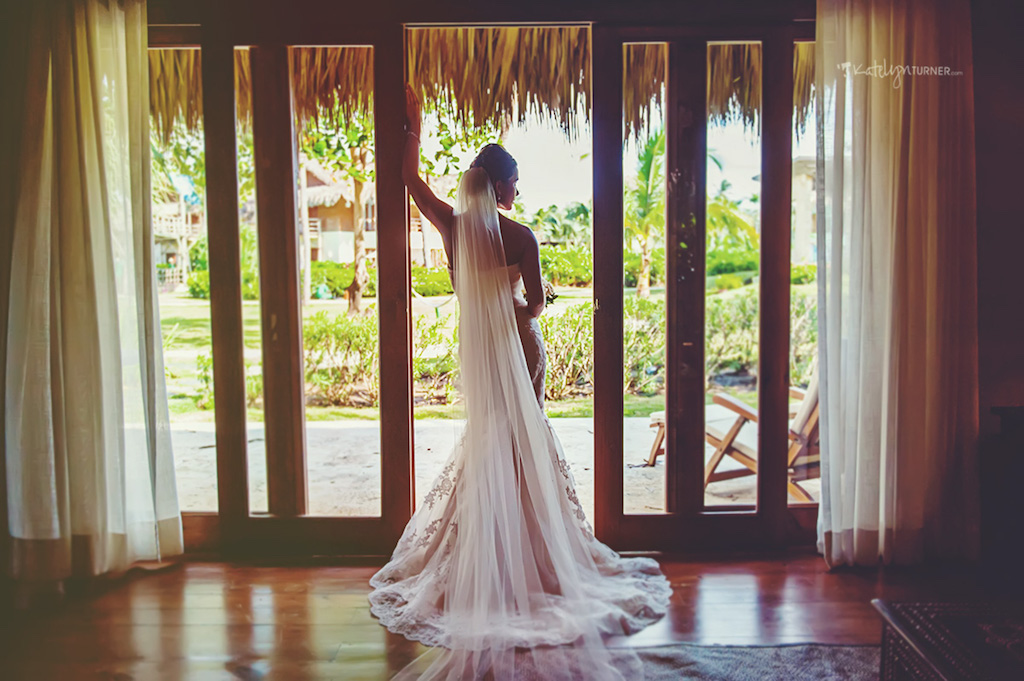 This stunning bride brought 60 of her closest friends with her to Punta Cana Zoetry Resort for a Destination Wedding. Instead of taking