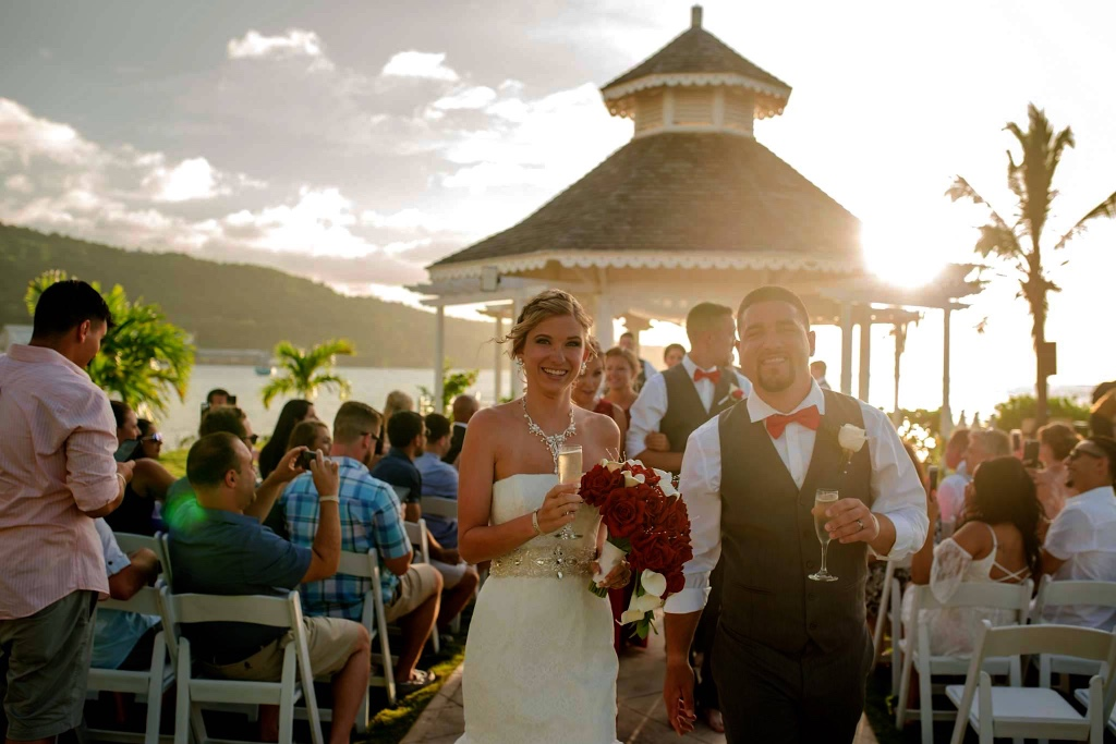This fun couple brought 60 of their closest friends with them to Jamaica for a Destination Wedding. Instead of taking the traditional