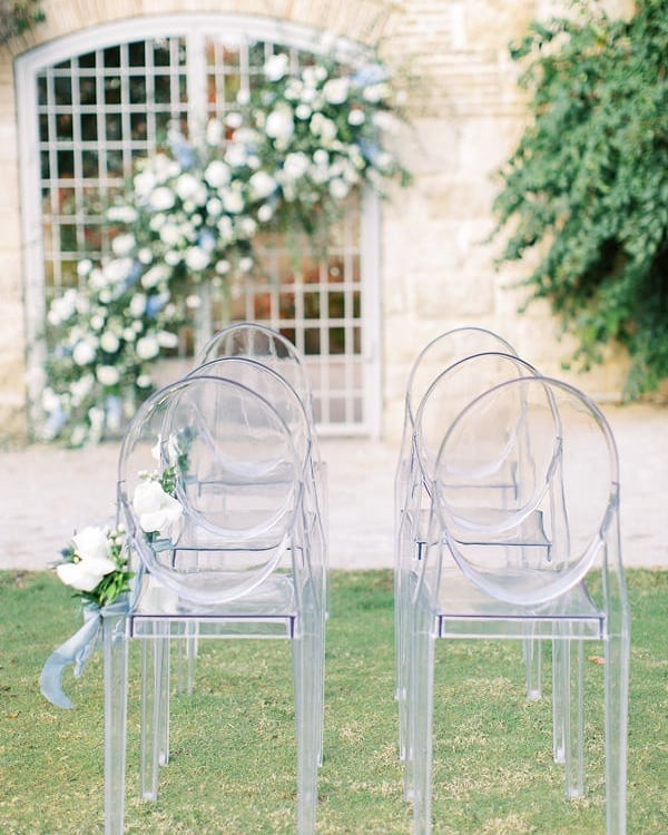 One of my favorite wedding arches this year. Inspired from French countryside we designed a garden-fresh palette of butter yellow,