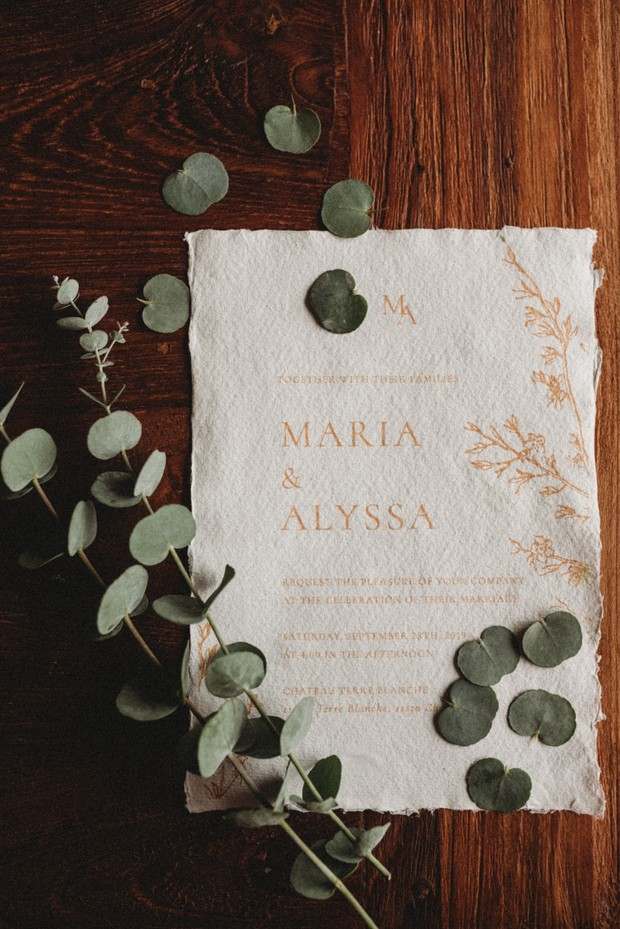 wedding invitation idea