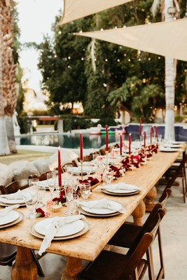 This Fall Wedding in Palm Springs is Laid Back & Beautiful