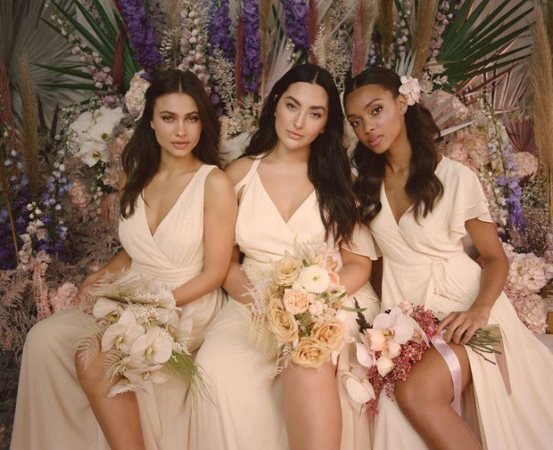 You Really Can't Do Mix and Match Bridesmaids Without This Brand