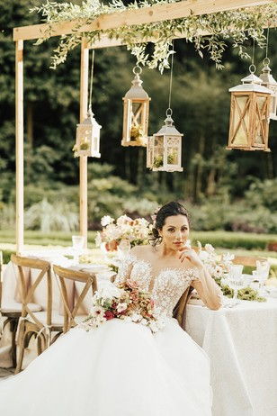 wedding decor for your garden wedding