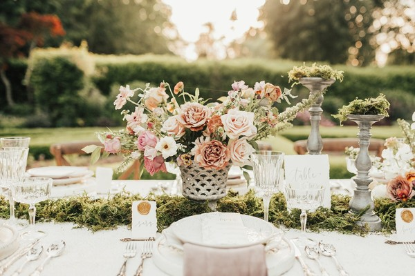 Secret Garden Inspired Summer Wedding Ideas