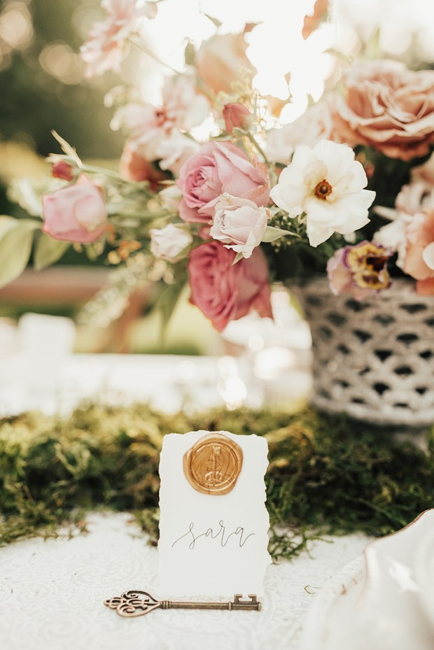 secret garden place card