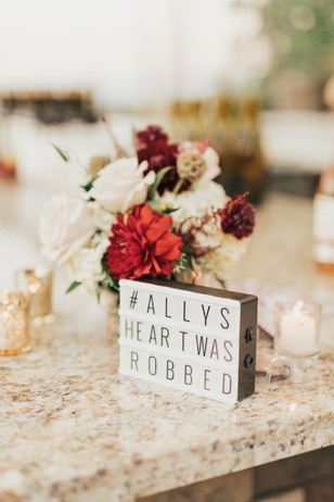 cute customizable marquee sign