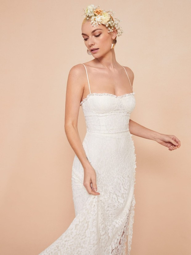 Get You a Wedding Dress That Can Do It All from Reformation