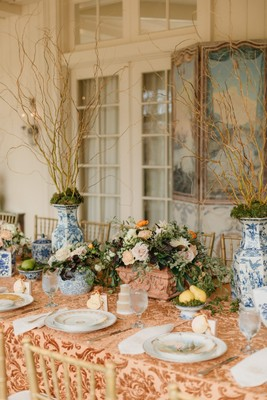 Fancy Fall Garden Bridal Shower Luncheon