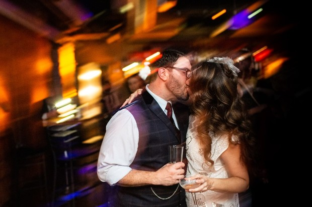 A Speakeasy Sort of Wedding Gets Major Points for Guest Experience