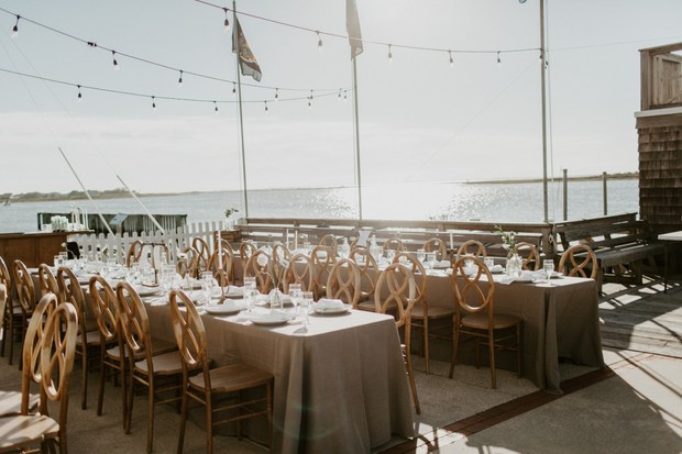 family style wedding seating