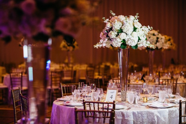 hotel wedding reception design