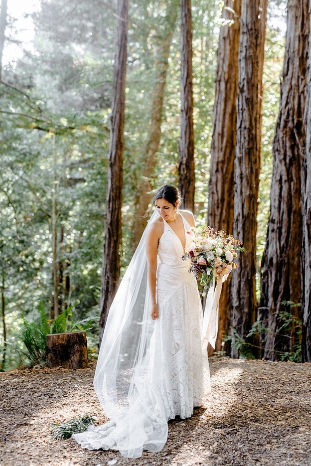 forest bridal style
