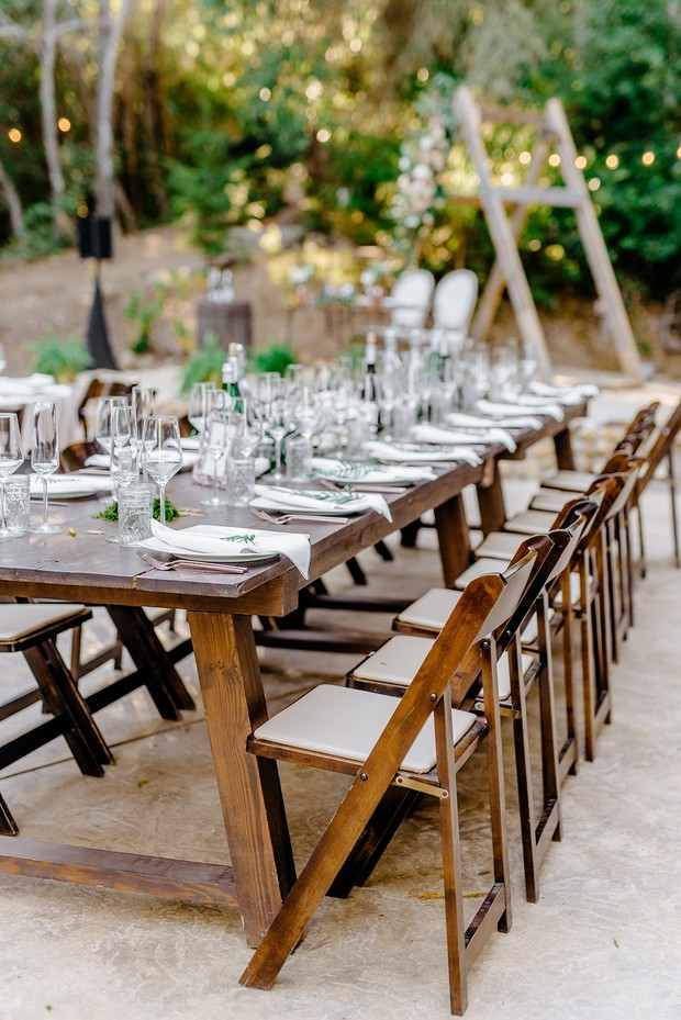 family style seating for your wedding reception
