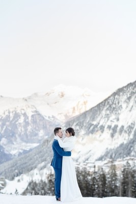 Something Blue Winter Wedding And Elopement Ideas