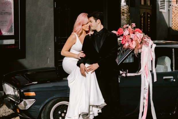 This Is How You Plan a Next-Level Millennial Pink Wedding