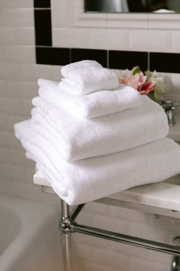 Wamsutta collection Turkish bath towels