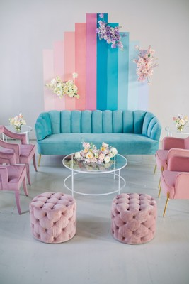 If Lisa Frank Had a Pastel Rainbow Wedding This Would Be It