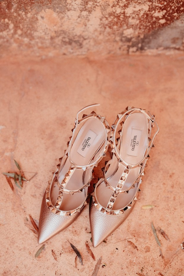 Rock studded Valentinos