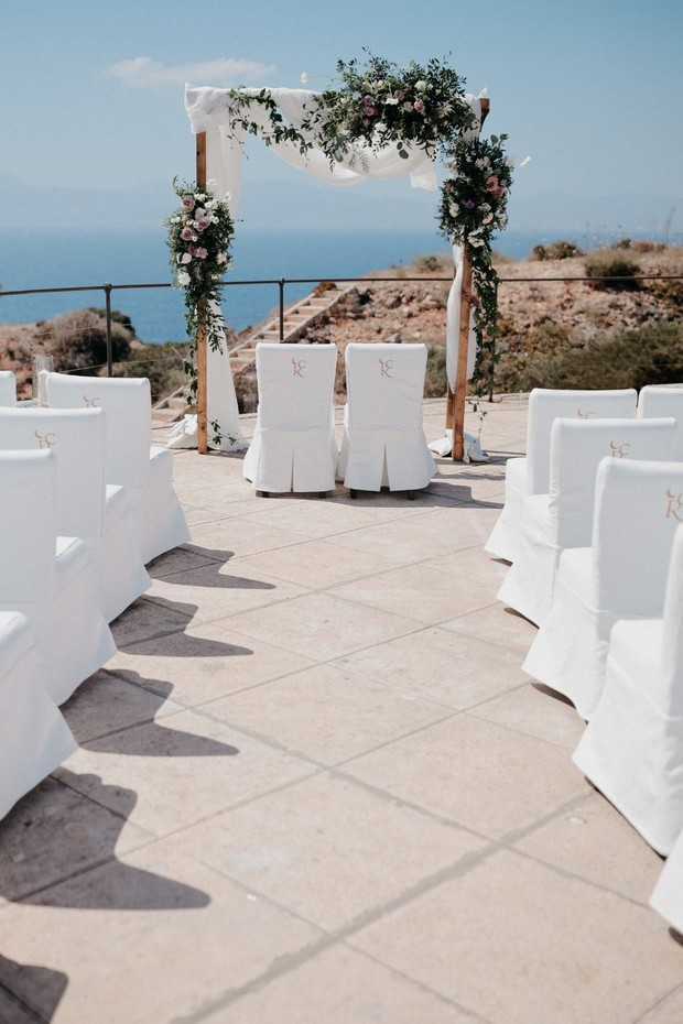 wedding ceremony in Mallorca