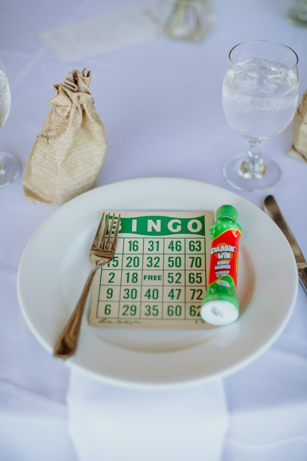 vintage wedding bingo cards