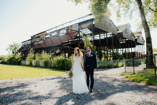 Hutton Brickyard vintage wedding