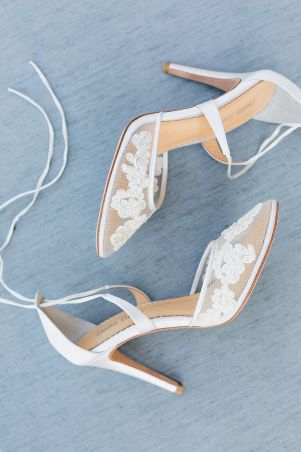 Bella belle wedding heels