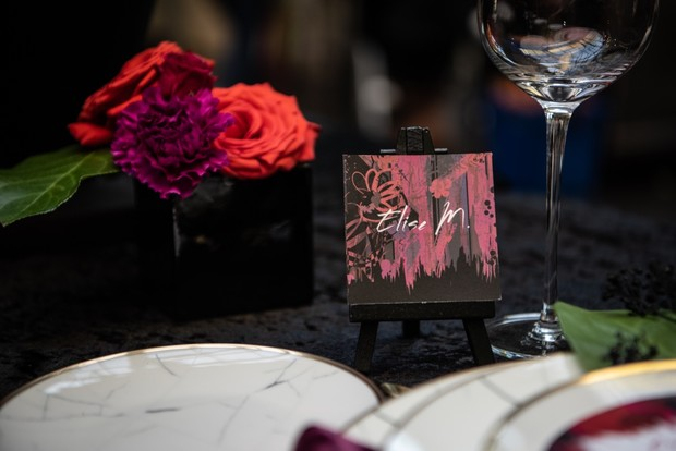 wedding place cards design