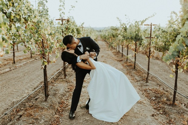 Classic chic Vineyard wedding in Sonoma