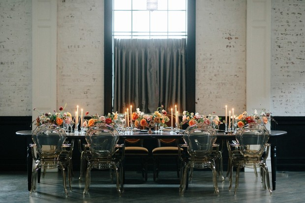 moody wedding table decor ideas