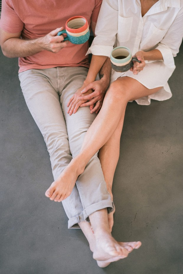 breakfast engagement shoot idea