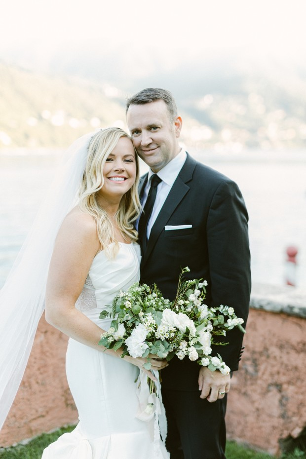 intimate elopement on Lake Como