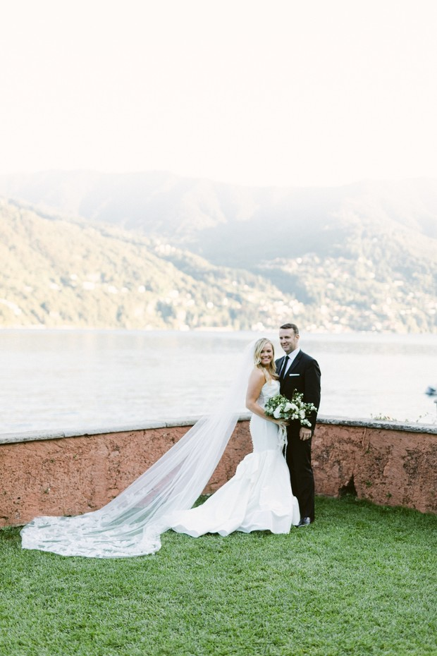 Intimate elopement on Lake Como in Italy