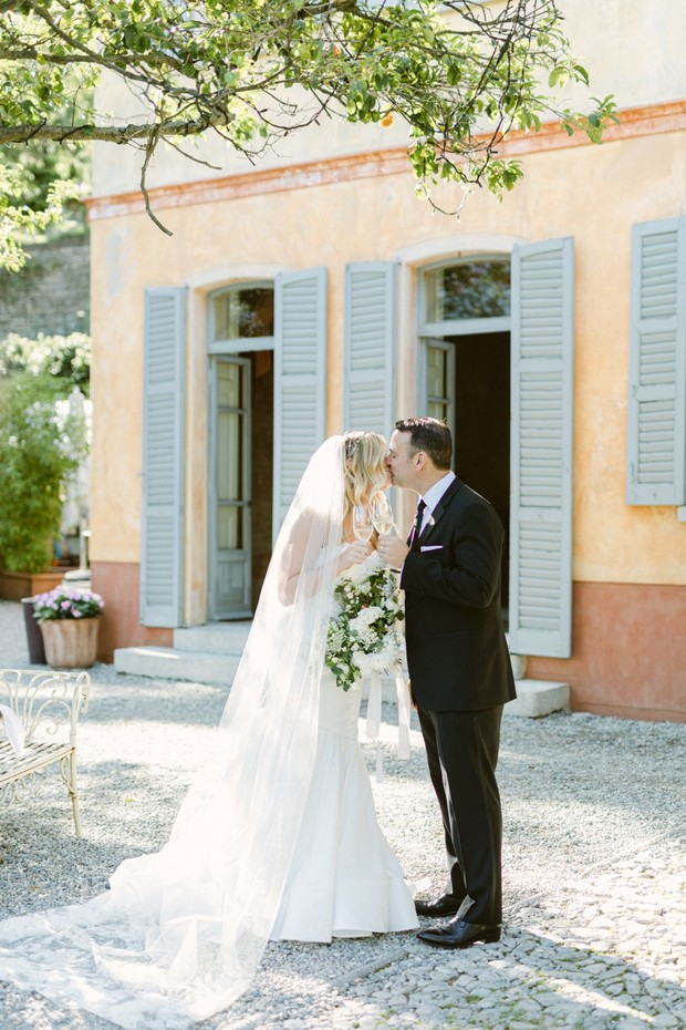 cheers to the newlyweds in Italy!