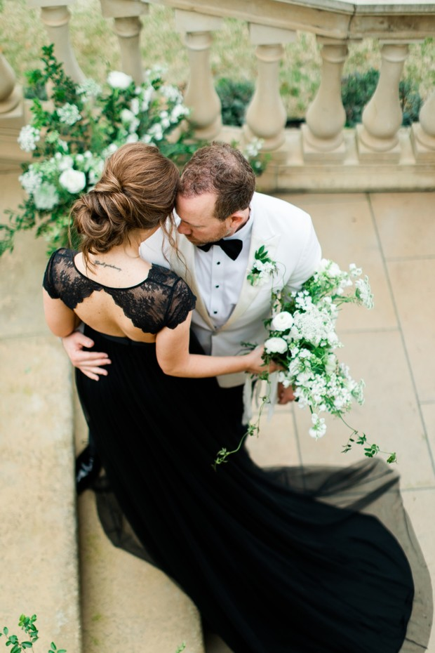 Give Your Classic Wedding A Black Modern Edge