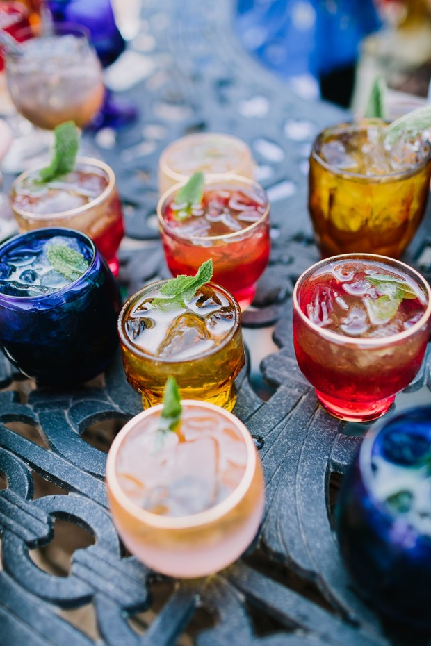 fun and funky wedding cocktails and classes