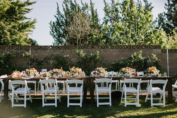 family style reception seating