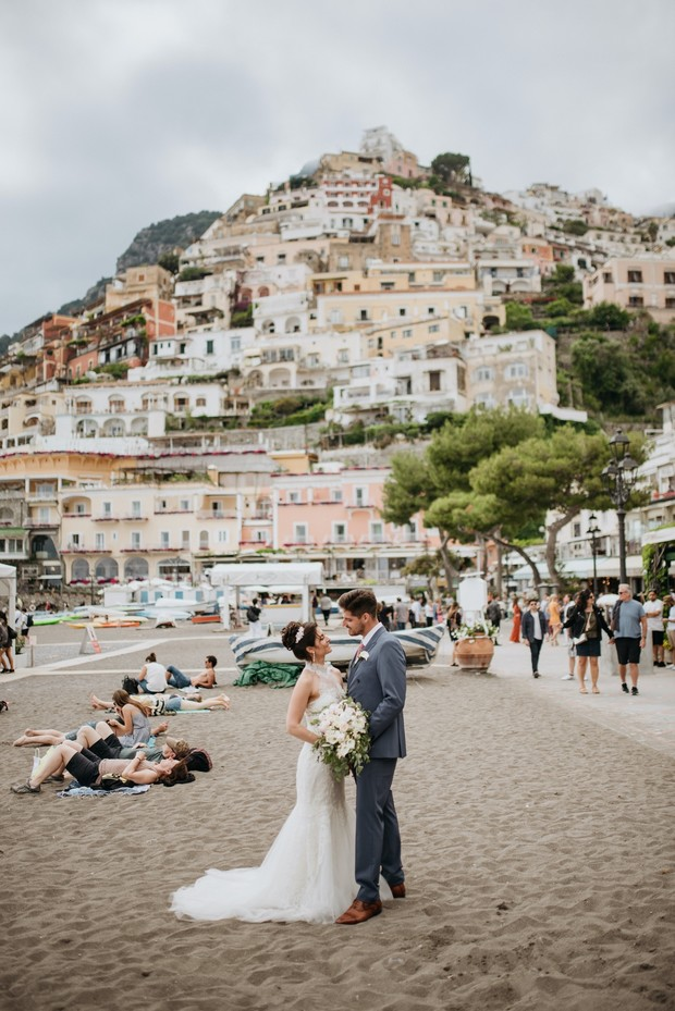 A Quiet Little Wedding On The Coast Of Italy