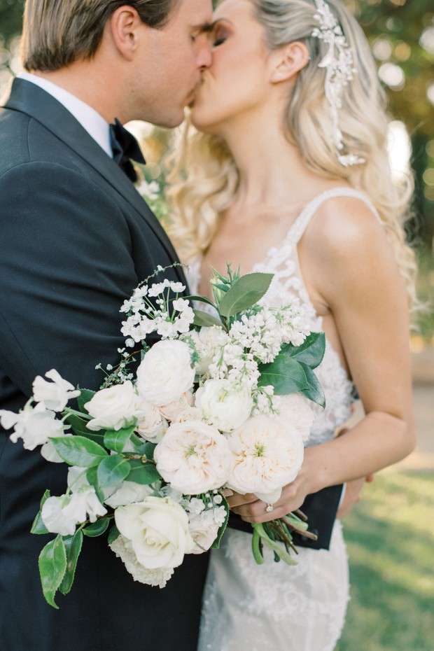 Classically Romantic Wedding Ideas In Grey and White